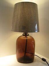 Re-Purposed Christian Brothers Brady Liquor Bottle Table Lamp Decor Handmade