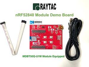 Nordic nRF52840 Raytac BT5.2 BT5 Module Demo Board (u.FL Connector Version)