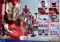 Hot Toys 1/6th Iron Man Mark XLVII  MK47 Figure MMS427D19 Spider-Man Homecoming
