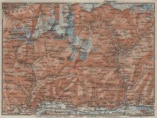 VAL MASINO/BREGAGLIA ALPS. Disgrazia Caspoggio Tellina Malenco Sondrio 1928 map