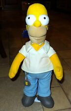Homer Simpson Plush Doll, Applause, 300th Episode, New with Tags, Stand Keychain