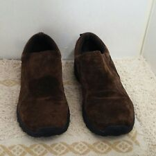GBX mens shoes Size 9M Style Trailer Color Chocolate Leather suede upper