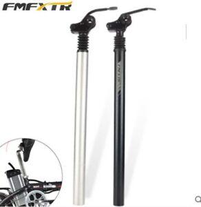 Electronic Bike Seat Post Shock Absorbers  Damping Suspension Quick Folding Seat