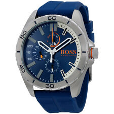 Hugo Boss Orange 1513291 48mm Stainless Steel Rubber Strap Men's Watch