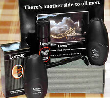 Geschenkset Man, Loreste Pour Homme, Paris, 50ml EDT + 50ml AS, Rasiercreme