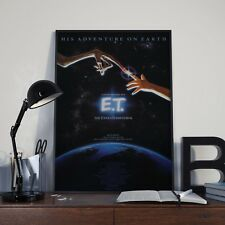 Classic E.T ET Extra Terrestrial Movie Film  Poster / Print / Picture A3 A4 Size