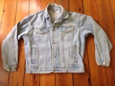 "Old Navy Light Wash Denim 100% Cotton Blue Classic Mens Jean Jacket M 48"""