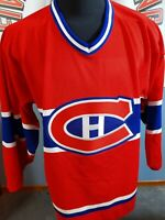 MONTREAL CANADIENS VINTAGE CCM BLANK JERSEY NHL