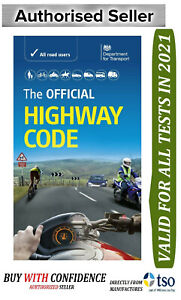 The official HIGHWAY code 2021 DVSA paperback latest edition for theory test