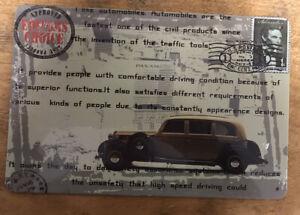 Classic Car Tin Sign