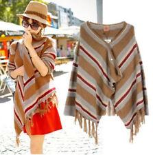 066 Korean Women's Fashion Casual Cardigan Knit Sweater Blouse Top