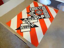 2010 Obey Giant Shepard Fairey CONSTRUCTIVIST BANNER ART PRINT PASTER POSTER 1