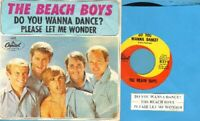 Beach Boys - Do You Wanna Dance Vinyl 45 rpm record PS Free Ship