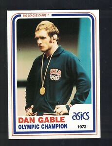 1990 Banach Legends of Wrestling Card DAN GABLE Olympic Champion Iowa Hawkeyes
