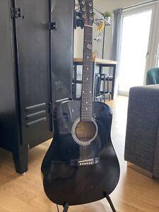 Squier Fender Akustik Gitarre Gebraucht