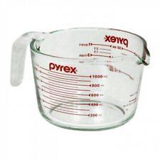 NEW PYREX MEASURING CUP JUG OVEN SAFE 1L 4 CUPS GLASS DISHWASHER SAFE BAKEWARE