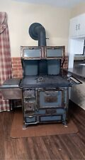 Antique wood-burning cook stove