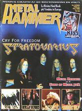 METAL HAMMER 2 2000 Statovarius Kiss Labirinth Sentenced Gathering Running Wild