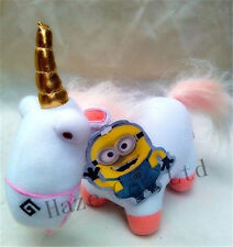 Despicable Me 2 Soft Toy Fluffy Unicorn Plush Stuffed Animal Doll 9""