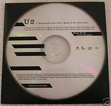 U2 Sometimes You Can't Make It on Your Own Mexico Promo CD Single With 2 edits
