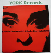 "LISA STANSFIELD - This Is The Right Time - Ex Con 7"" Single Arista 112 512"