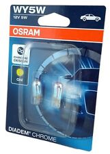WY5W OSRAM Diadem Chrome gelbe Chrom silver vision Blinker Lampe Set 2827DC-02B