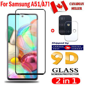 For Samsung Galaxy A51 A71 A31 A21s A21 A11 Tempered Glass Screen Protector