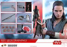 NEW Hot Toys MMS446 Star Wars The Last Jedi 1/6 Rey Jedi Training Daisy Ridley