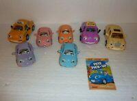 Vintage Lot of 7 Chevron Cars Loose