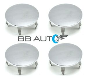 "SET OF 4 NEW 2"" CHROME WHEEL HUB CENTER CAPS FOR CHRYSLER PT CRUISER DODGE NEON"