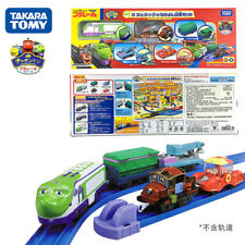 Takara Tomy Plarail Chuggington Koko and Hodge with Freight Cars 5 Trains Set