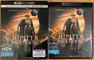 JUPITER ASCENDING 4K ULTRA HD BLU RAY 2 DISC SET + RARE OOP SLIPCOVER SLEEVE BUY