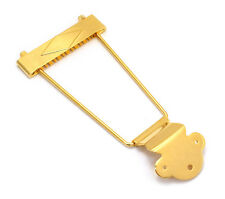 Gold 12-string Trapeze Tailpiece for Hollowbody/Archtop/Jazz Guitar TP-0630-002