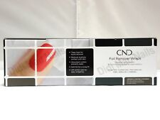 CND Foil Wrap Remover Wraps 250CT Gel Lacquer Remover SHIP IN 24H NEW Authentic