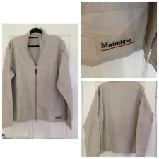 """Matinique Jacket Mens Beige Size From Pit To Pit 22.5"""" (A19)"""