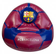 FC BARCELONA INFLATABLE CHILDS CHAIR - KIDS FOOTBALL SEAT RRP £20