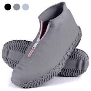 Waterproof Silicone Reusable Rain Shoe Covers Anti-slip Shoes Cover Protector