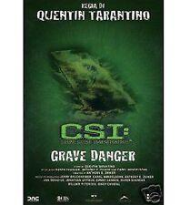 DVD C.S.I. regia di Tarantino - Grave danger