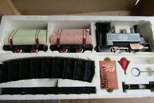MAMOD STEAM RAILWAY GOODS TRAIN SET O gauge Superb Boxed