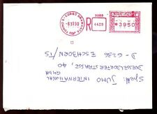 Italy 1990 Registered Cover To Germany #C6377