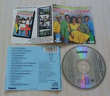 CD album LA COMPAGNIE CREOLE CAYENNE CARNAVAL 15 TITRES 1989