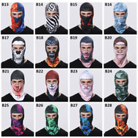 Ski Mask Full Face Motorcycle Cycling Mask Biker Neck Scarf Windproof Balaclava
