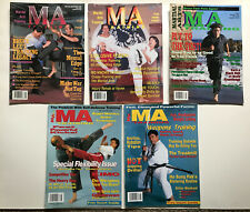 Martial Arts Training Magazine Karaté Taekwondo Kenpo Jeet Kun Do Weapons