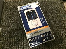 SCHLAGE ELECTRONIC TOUCH SCREEN DEAD BOLT WITH ALARM