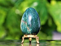 Superb 65MM Green Kyanite Crystal Quartz Chakra Healing Reiki Energy Stone Egg