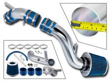 BCP BLUE Cold Air Intake System +Filter For 97-01 Tiburon/96-00 Elantra 1.8/2.0L