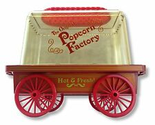 Vintage Popcorn Factory Electric Hot Air Maker Red Corn Popper Machine Wagon