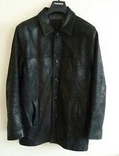 Men's Thomas Nash Leather Lined Black Jacket Size S From Debenhams