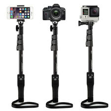 Bluetooth Selfie Stick Monopod for iPhone 7 6S GoPro Sports Sony DSRL Camera UK