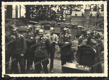 4 x Brüssel-Luftnachrichten-Regiment 2-Offizier Taufe-1940-sd.kfz-Chateau Duden